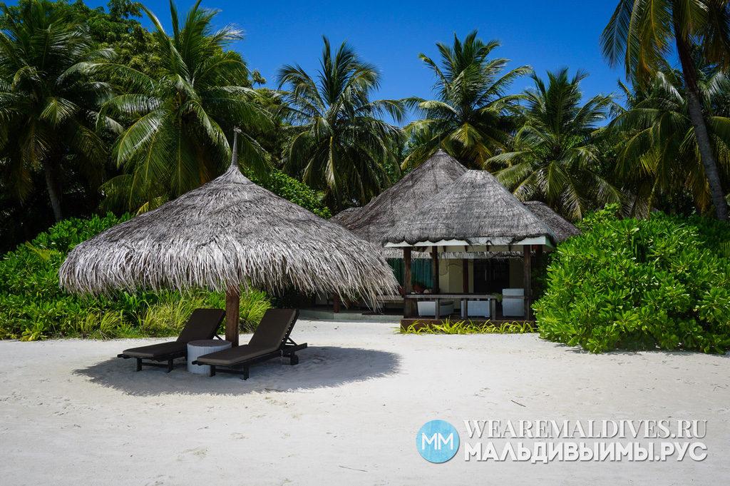Пляжная вилла в мальдивском отеле Kihaad