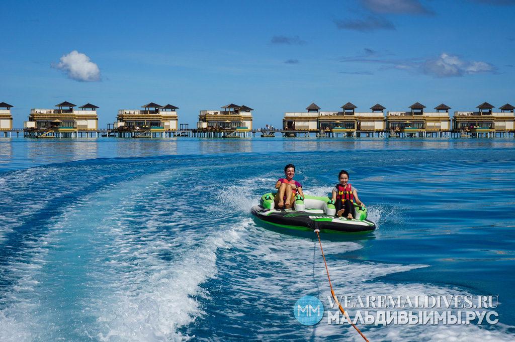 Водные виды спорта в Angsana Velavaru