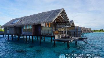 Водные виллы на Мальдивах