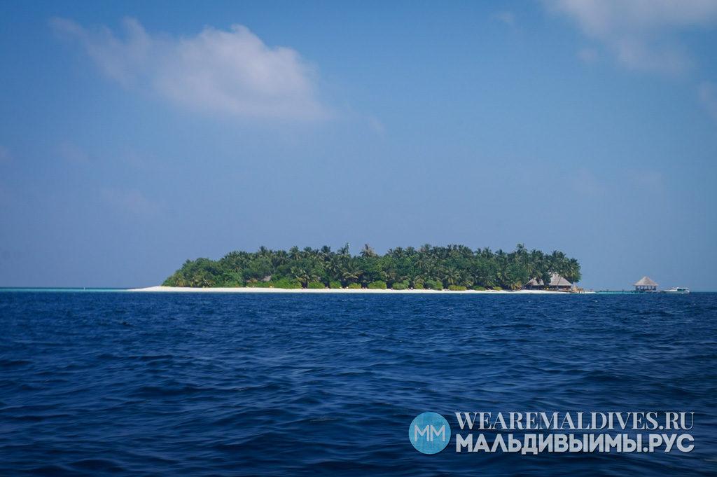 Остров-отель PER AQUUM Huvafen Fushi в Мальдивах