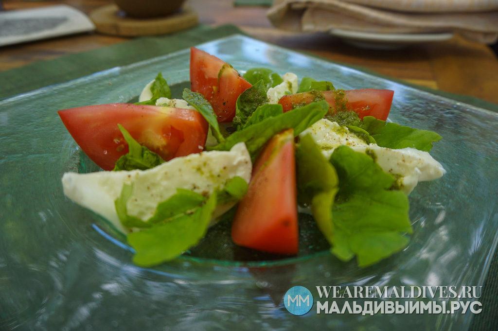 Салат от повара Soneva Fushi Maldives