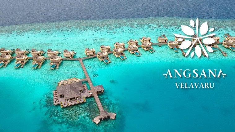 Водные виллы отеля Angsana Velavaru на Мальдивах