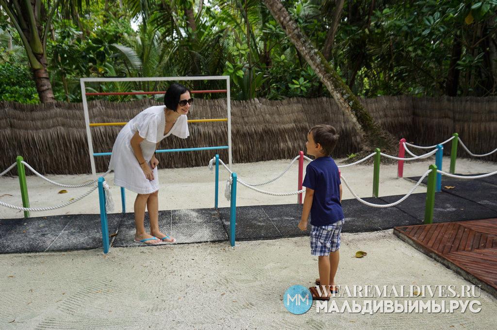 Детская игровая площадка отеля Shangri-La Villingili
