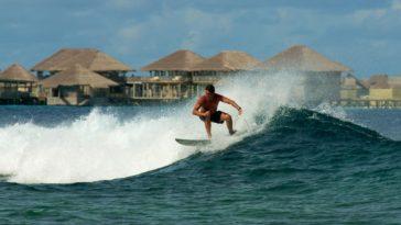 Серфинг на Мальдивах в отеле Six Senses Laamu